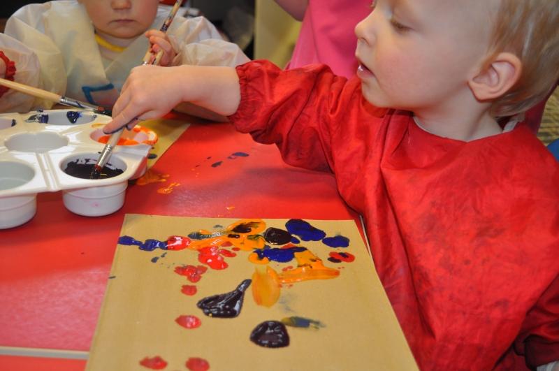 Choosing colour of paint