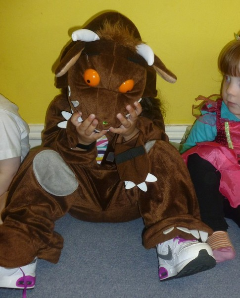 Dressing Up As A Gruffalo