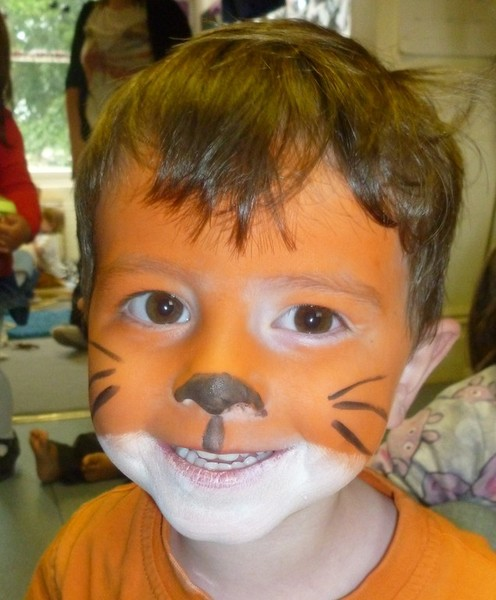 Face Painting at Daisykins Nursery Rugby