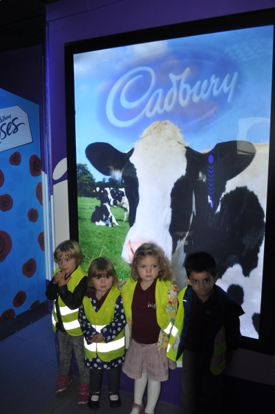 Finding out how chocolate is made