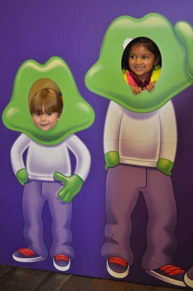 Look I'm a Freddo the frog