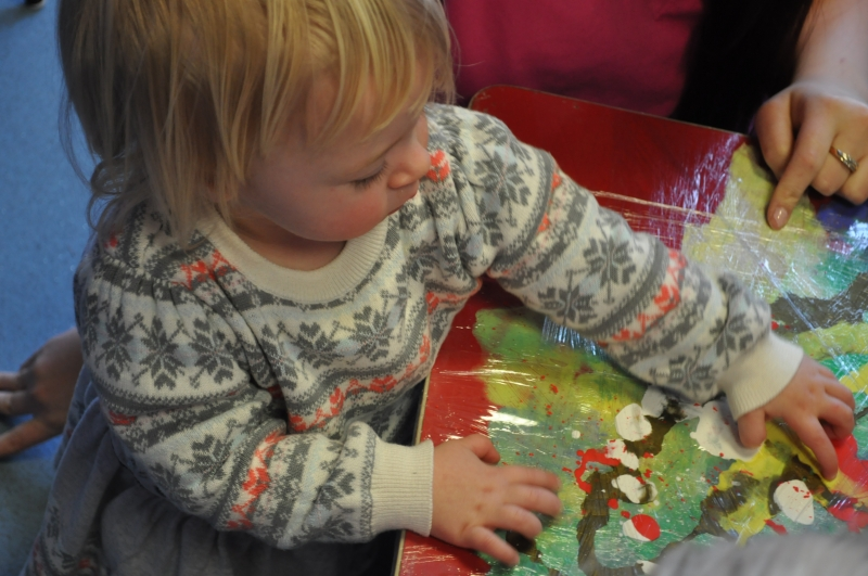 A sensory experience for children