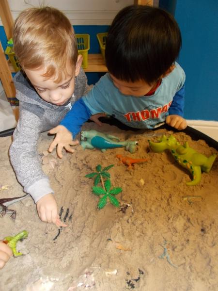 Hiding the dinosaurs