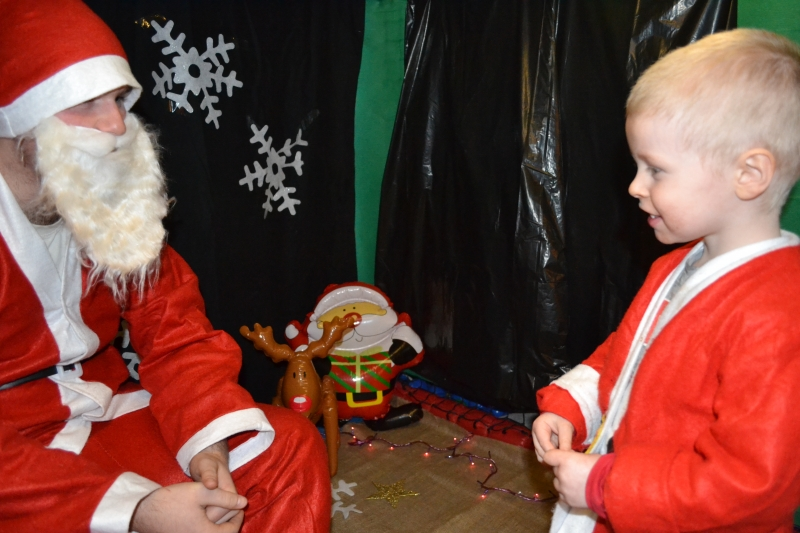 Talking to Father Christmas