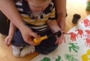 Children Love Hand Painting