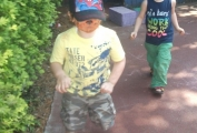 Children at Daisykins turn into Safari animals