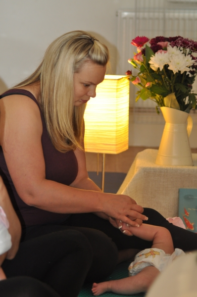 Massaging using oil