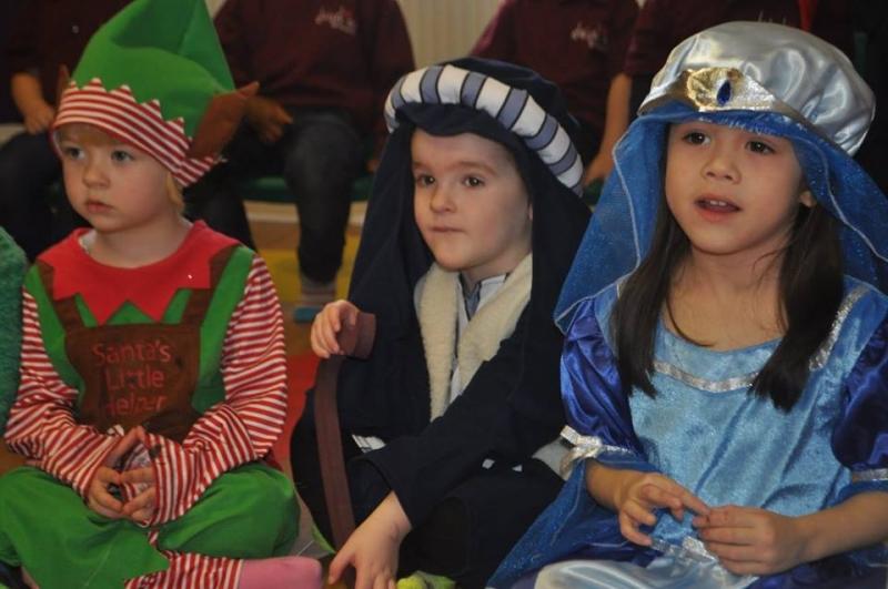 Mary, Joseph and a Christmas Elf