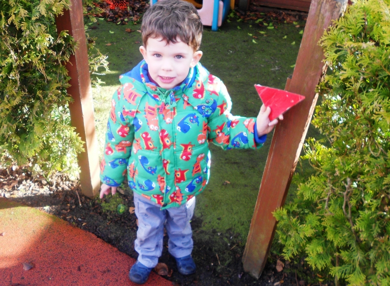 Finding shapes in the garden