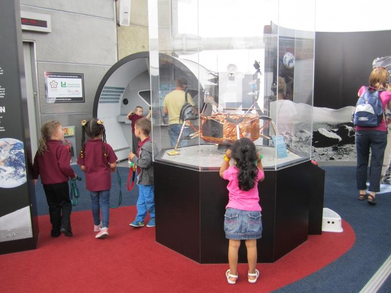Explore the space centre