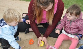 Toddlers trip to Bosworth Water Trust