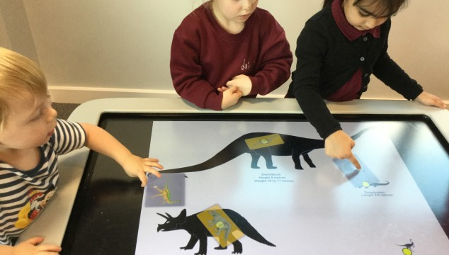 Developing new skills using the Smart Table