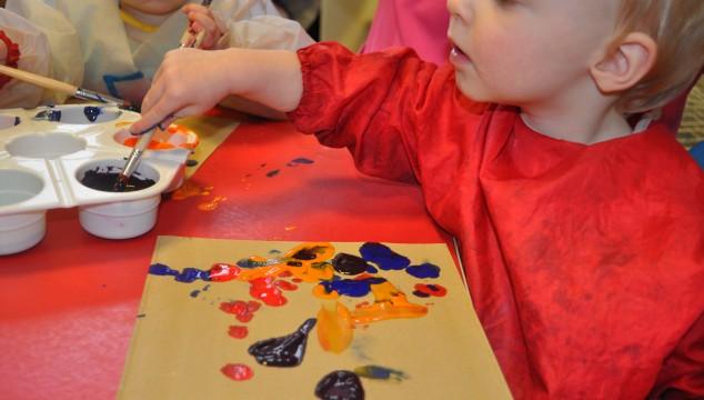 Developing children's mark making skills