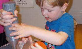 Pre-School Minor's Smoothie Making