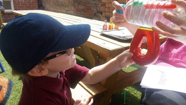 Pre-School Science Experiments