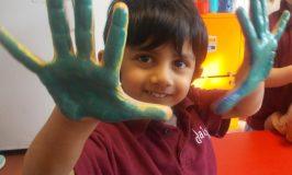 Exploring The World Of Colour in Pre-School