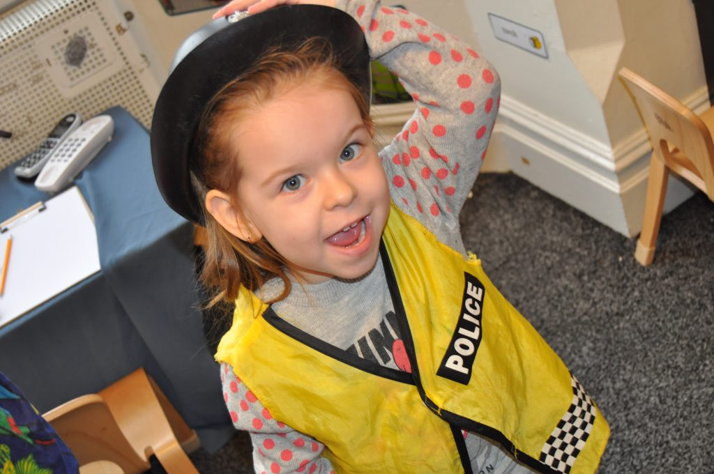 Police Station Dramatic Play Daisykins The Rugby Nursery